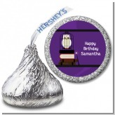 Wizard Tools & Owl - Hershey Kiss Birthday Party Sticker Labels