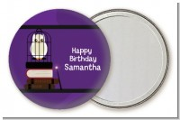Wizard Tools & Owl - Personalized Birthday Party Pocket Mirror Favors