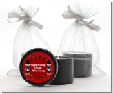 Wooden Soldiers - Christmas Black Candle Tin Favors