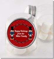 Wooden Soldiers - Personalized Christmas Candy Jar