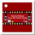 Wooden Soldiers - Personalized Christmas Card Stock Favor Tags thumbnail