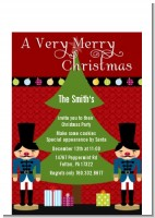Wooden Soldiers - Christmas Petite Invitations