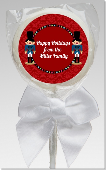 Wooden Soldiers - Personalized Christmas Lollipop Favors