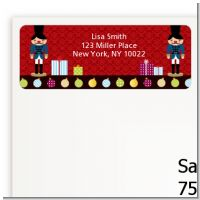 Wooden Soldiers - Christmas Return Address Labels