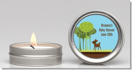 Woodland Forest - Baby Shower Candle Favors