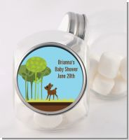 Woodland Forest - Personalized Baby Shower Candy Jar