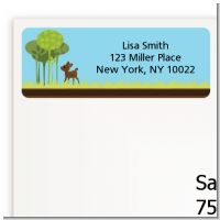 Woodland Forest - Baby Shower Return Address Labels