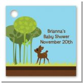 Woodland Forest - Personalized Baby Shower Card Stock Favor Tags
