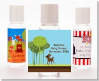 Woodland Forest - Personalized Baby Shower Hand Sanitizers Favors