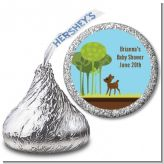 Woodland Forest - Hershey Kiss Baby Shower Sticker Labels