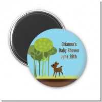 Woodland Forest - Personalized Baby Shower Magnet Favors