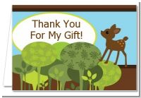 Woodland Forest - Baby Shower Thank You Cards