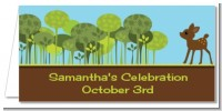 Woodland Forest - Personalized Baby Shower Place Cards