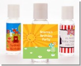 You Are My Sunshine - Personalized Birthday Party Hand Sanitizers Favors