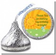 You Are My Sunshine - Hershey Kiss Birthday Party Sticker Labels thumbnail