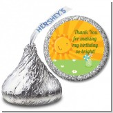 You Are My Sunshine - Hershey Kiss Birthday Party Sticker Labels