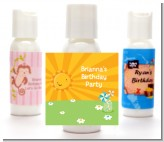 You Are My Sunshine - Personalized Birthday Party Lotion Favors