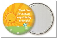 You Are My Sunshine - Personalized Birthday Party Pocket Mirror Favors