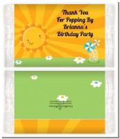 You Are My Sunshine - Personalized Popcorn Wrapper Birthday Party Favors