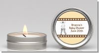 Zebra - Baby Shower Candle Favors