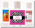 Zebra Print Pink - Personalized Birthday Party Hand Sanitizers Favors thumbnail