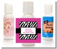 Zebra Print Pink - Personalized Birthday Party Lotion Favors thumbnail