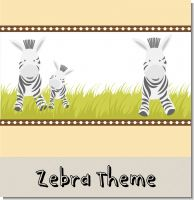 Zebra Birthday Party Theme