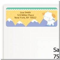 Ram | Aries Horoscope - Baby Shower Return Address Labels