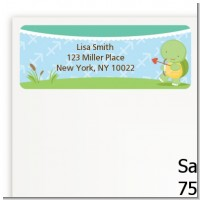Turtle | Sagittarius Horoscope - Baby Shower Return Address Labels