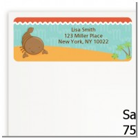 Scorpion | Scorpio Horoscope - Baby Shower Return Address Labels