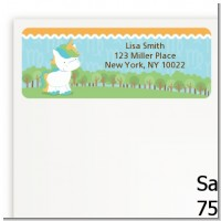 Unicorn | Virgo Horoscope - Baby Shower Return Address Labels