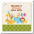 Zoo Crew - Personalized Birthday Party Card Stock Favor Tags thumbnail