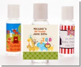 Zoo Crew - Personalized Birthday Party Hand Sanitizers Favors