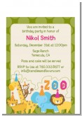 Zoo Crew - Birthday Party Petite Invitations