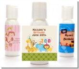 Zoo Crew - Personalized Birthday Party Lotion Favors
