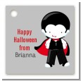 Dracula - Personalized Halloween Card Stock Favor Tags thumbnail
