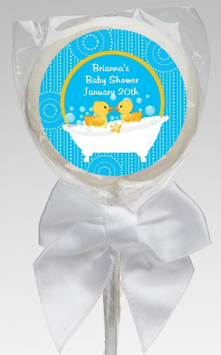 twin duck baby shower lollipop favors twin duck lollipop favors