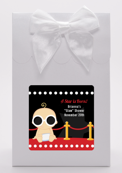 A Star Is Born Hollywood ® - Baby Shower Goodie Bags Caucasian