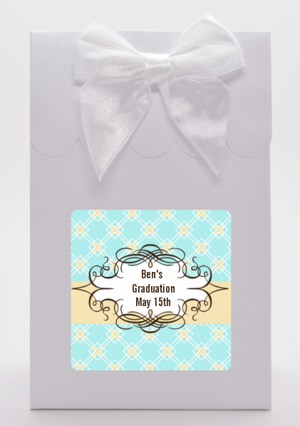 Aqua - Graduation Party Goodie Bags
