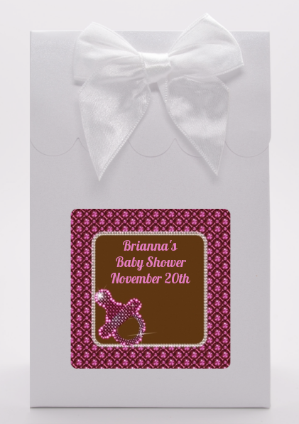 Baby Bling Pink - Baby Shower Goodie Bags
