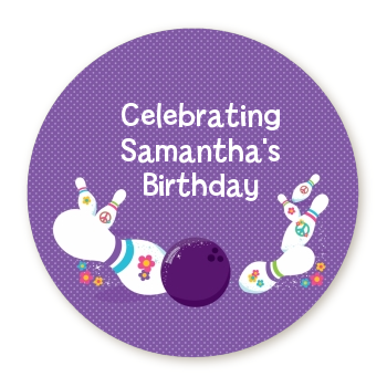 Bowling Party - Personalized Birthday Party Table Confetti