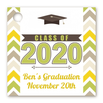 Brilliant Scholar - Personalized Graduation Party Card Stock Favor Tags
