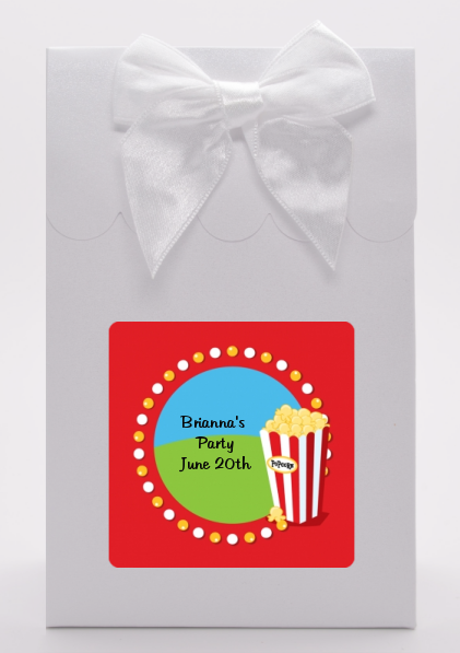 Circus Popcorn - Birthday Party Goodie Bags