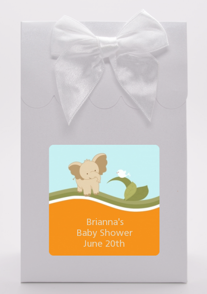 Elephant Baby Neutral - Baby Shower Goodie Bags