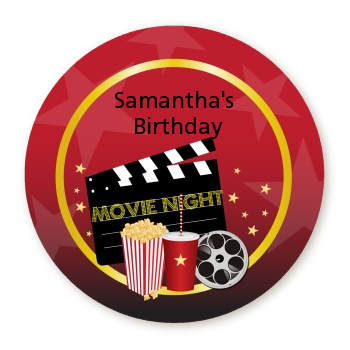 Movie Night - Personalized Birthday Party Table Confetti