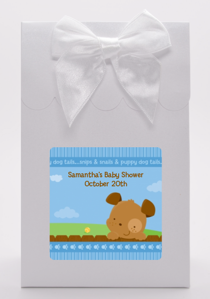 Puppy Dog Tails Boy - Baby Shower Goodie Bags