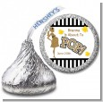 About To Pop Gold Glitter - Hershey Kiss Baby Shower Sticker Labels thumbnail