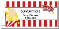 About To Pop - Personalized Baby Shower Place Cards