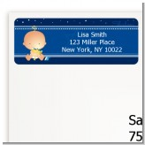 Hanukkah Baby - Baby Shower Return Address Labels