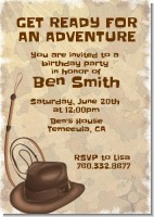 Adventure - Birthday Party Invitations
